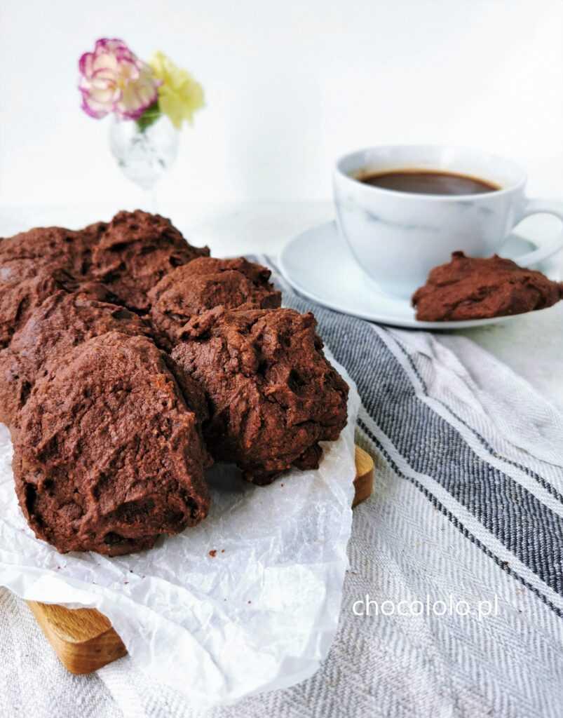 ciastka czekoladowo bananowe bezglutenowe 1