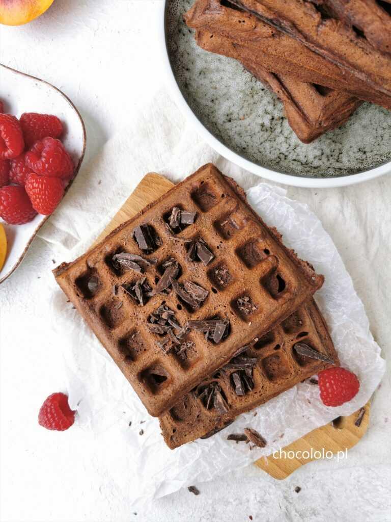 gofry czekoladowe 1