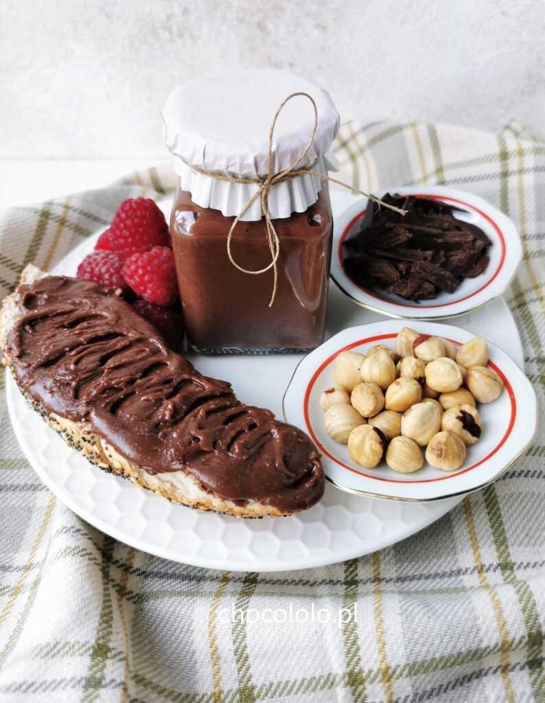 domowa nutella z 3 składników