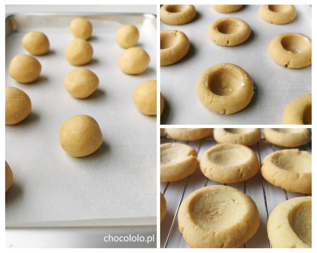 ciasteczka thumbprints przygotowanie 1