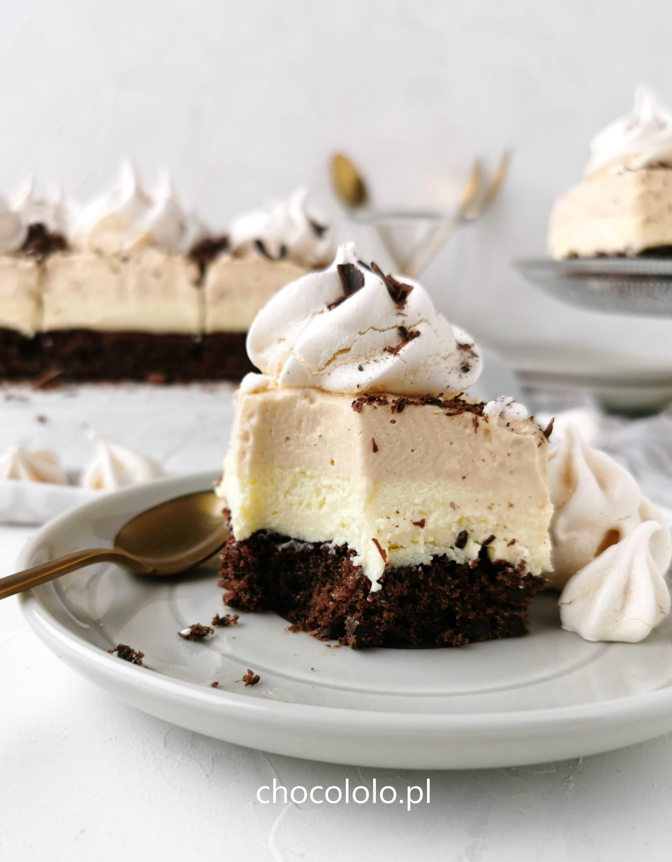czekoladowe ciasto toffi z bezami a