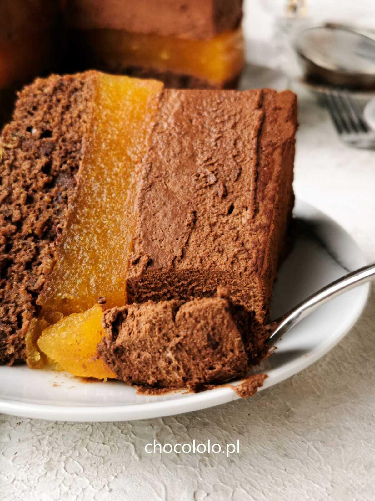 podwójnie czekoladowe ciasto delicja 1