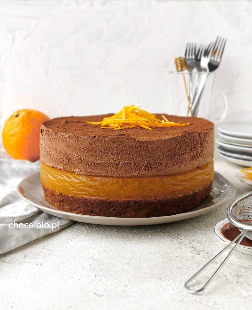 podwójnie czekoladowe ciasto delicja