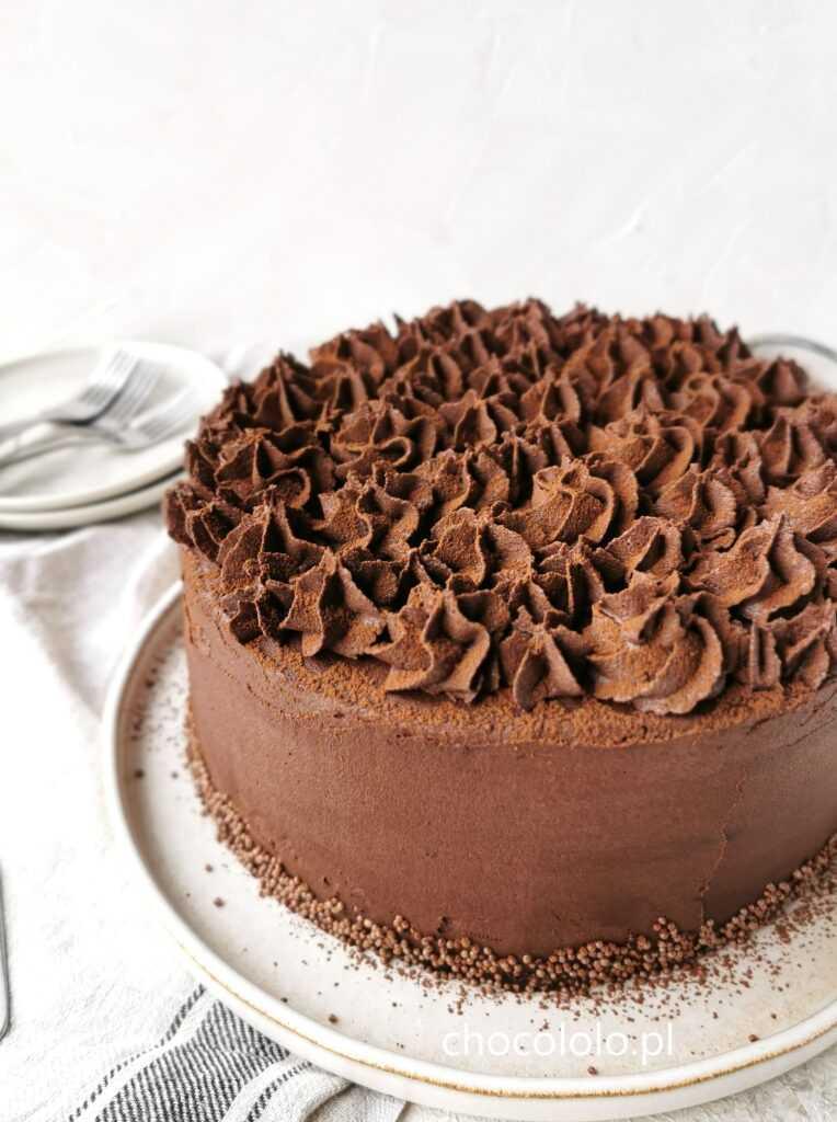tort czekoladowo-kawowy 1