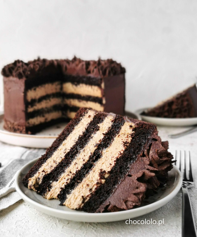 tort czekoladowo-kawowy a