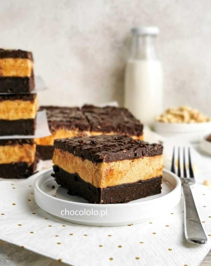 brownie z masłem orzechowym 3