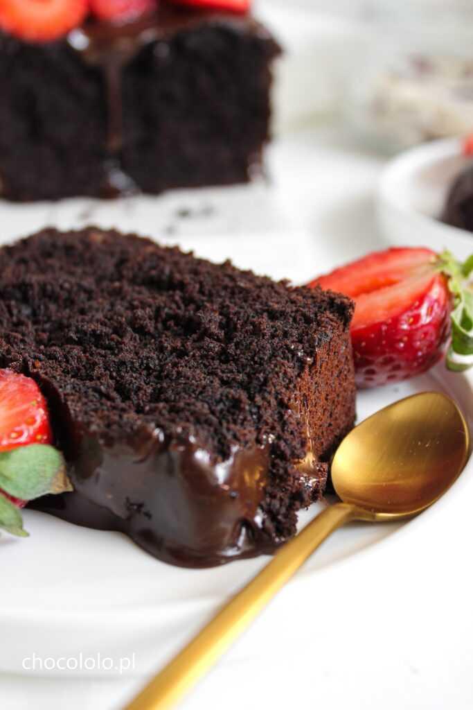 wegańskie ciasto czekoladowe 2
