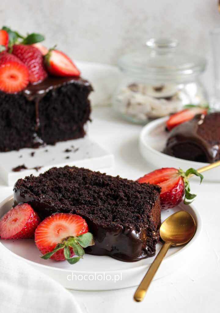 wegańskie ciasto czekoladowe 3