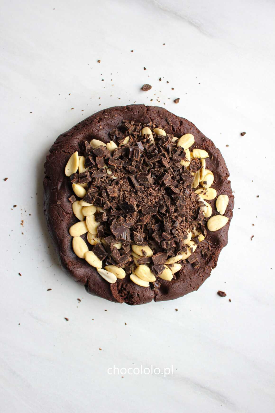 Ciasteczka Cantucci z czekoladą i migdałami 2