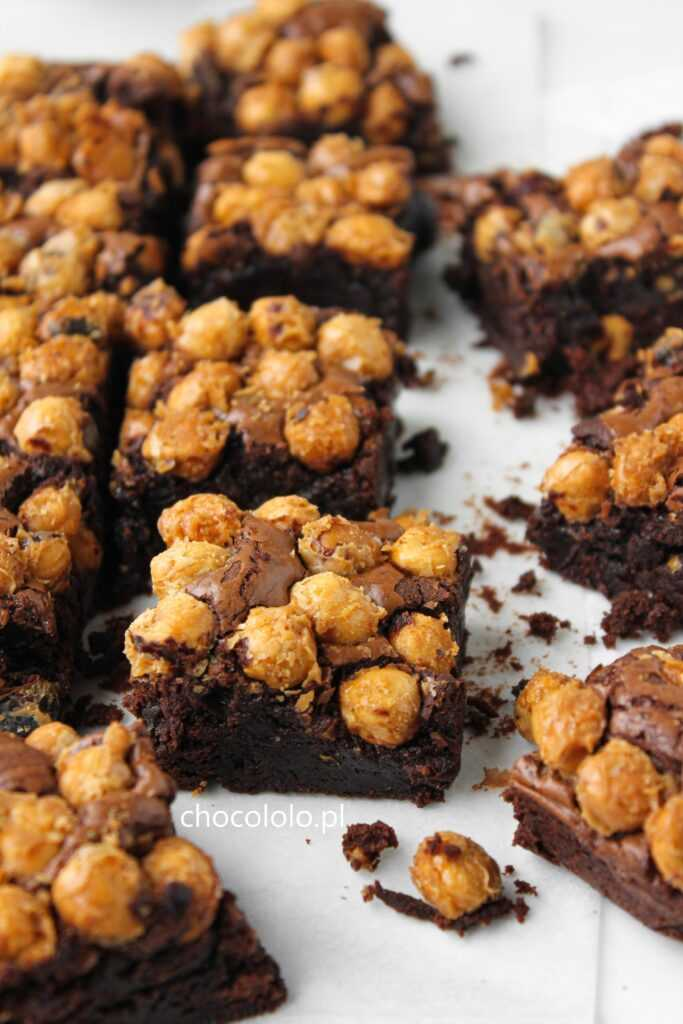 brownie chrupiący orzech 1