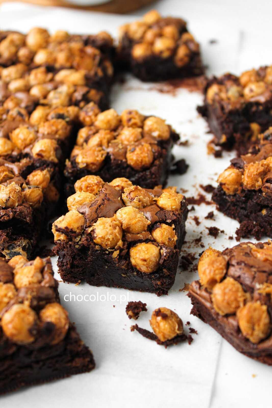 brownie chrupiący orzech 2