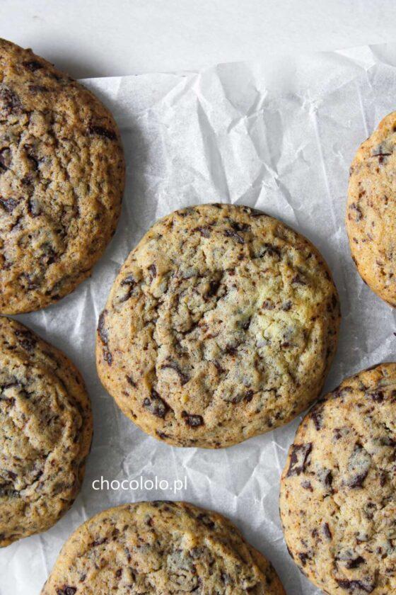 ciasteczka z kawałkami czekolady