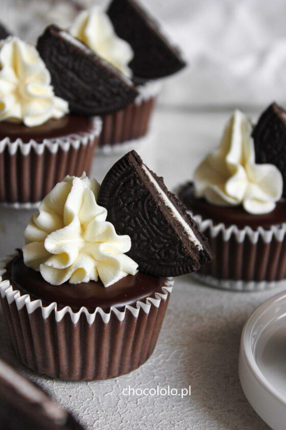 mini serniczki czekoladowe z oreo