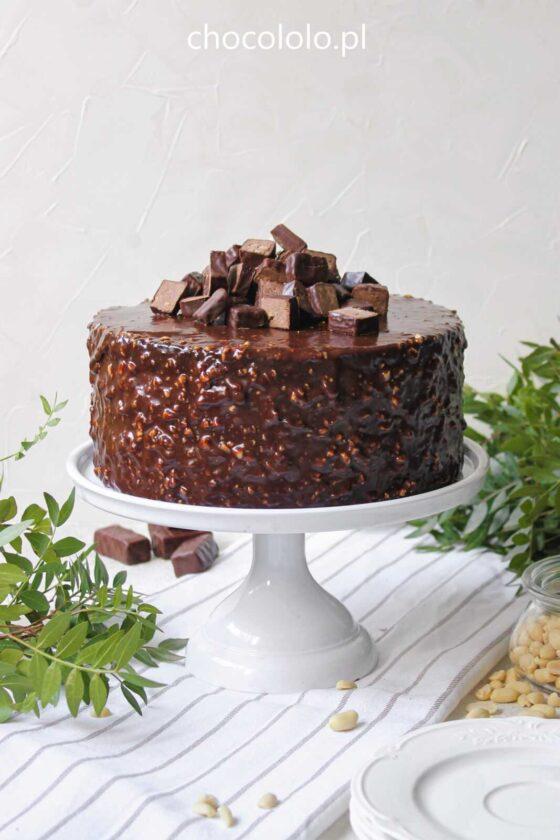 czekoladowy tort michałek